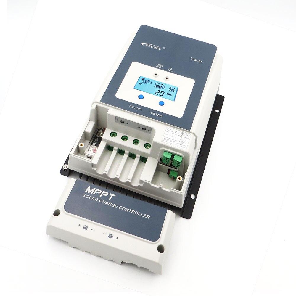 Cargador de Panel Solar MPPT Tracer8415AN Tracer8420AN 80A voltaje de carga de batería celular 8415AN 8420AN tracer