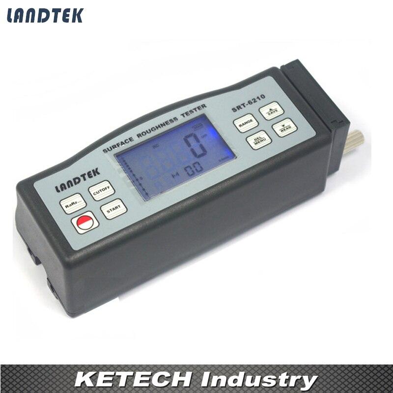 Lantek الرقمية المحمولة خشونة السطح اختبار SRT6210 (رع rz rq rt)