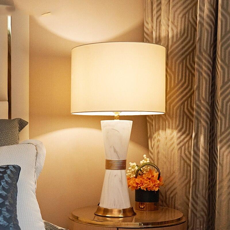 Lámparas de mesa Led modernas para dormitorio, luminaria de mesita de noche,...