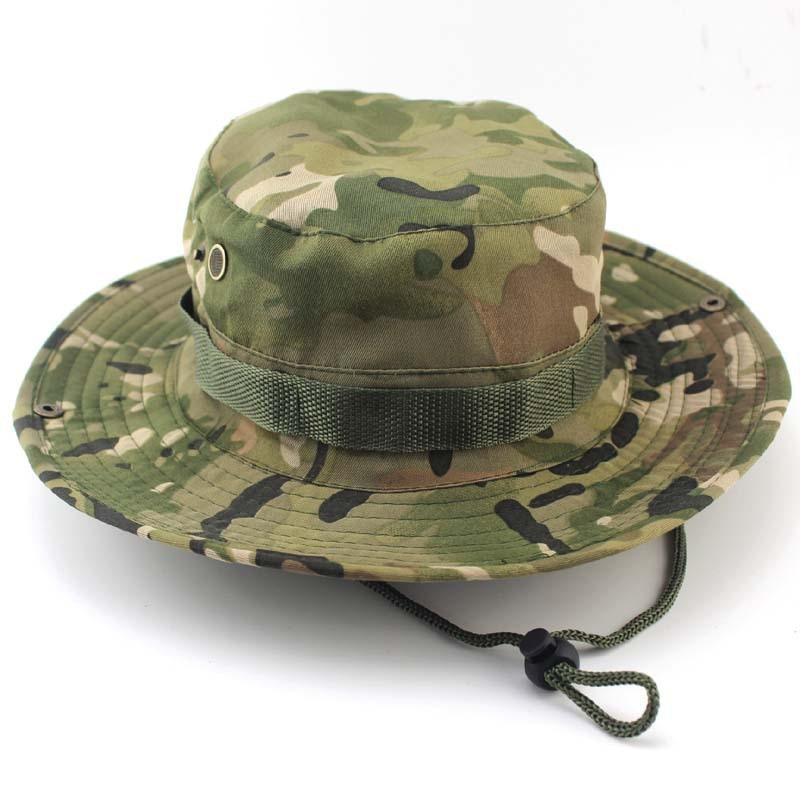 Bonnie-casquettes tactiques militaires   Casquettes pour hommes, chapeaux seau, Camouflage Gorras chasseur Fisher homme, casquettes pare-soleil vrai CS