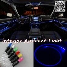 For MAZDA Hazumi 2014 Car Interior Ambient Light Panel illumination For Car Inside Tuning Cool Strip Light Optic Fiber Band
