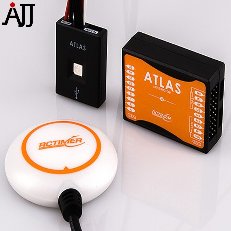 Rctimer ATLAS Flight Control System Included GPS and LED Module