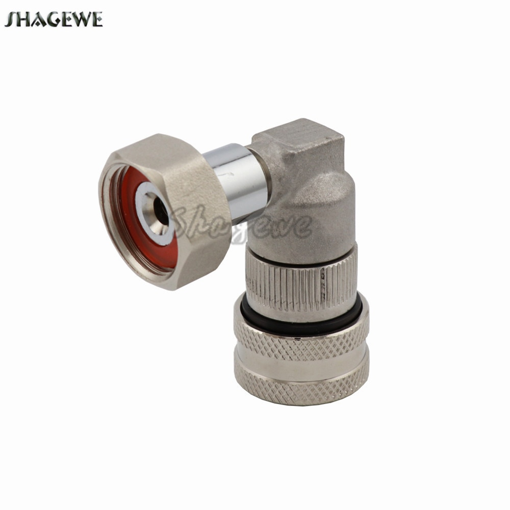 MFL Quick Connect Adapter Convert Kit Liquid Pin/Ball Lock Disconnect Fit Homebrew Keg Draft Adjustable Beer Tap G5/8 Shank