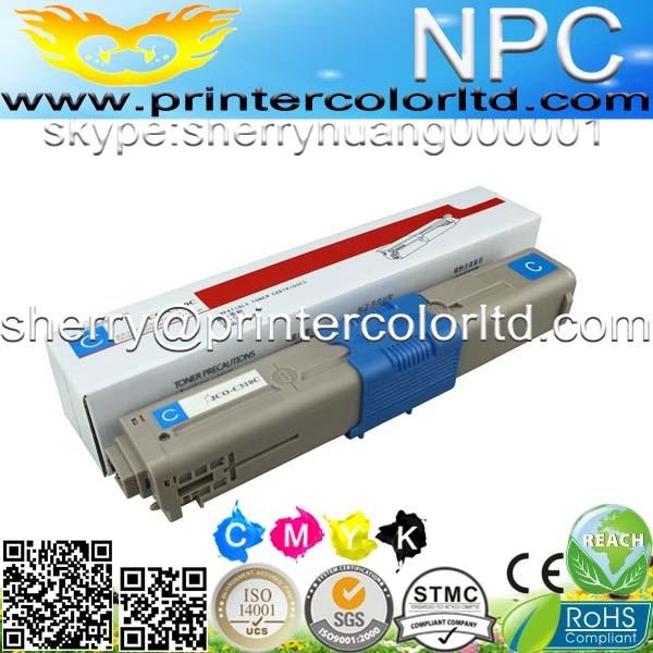 Cartucho de tóner de Color compatible para OKI 44973536 44973535 C301 C301DN C321 C321DN (2,2 k/1,5 k páginas)