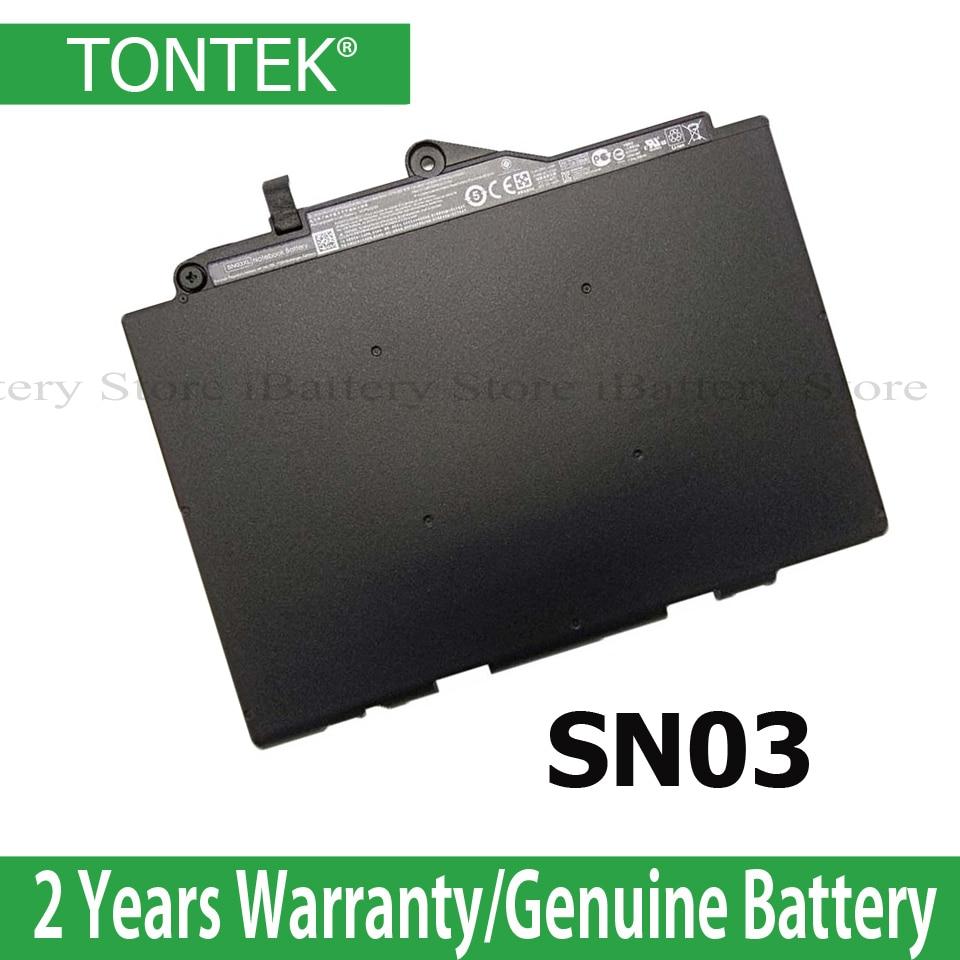 11,1 V 44wh SN03XL Аккумулятор для ноутбука HP EliteBook 820 G3 725 G3 800514-001N HSTNN-UB6T планшет