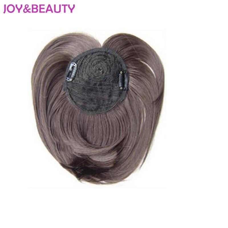 Женские синтетические волосы JOY & BEAUTY, длинные волосы 9 дюймов из высокотемпературного волокна на клипсе, 40 г