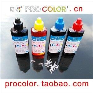 CISS refill ink cartridge Dye ink refill kit for HP 564 Photosmart 7510 7515 7520 B109a B109n B110a B209a B210a Inkjet Printer