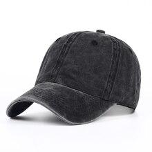 VORON-casquette de baseball en coton   100%, teinte unie, délavée au sable, casquette souple, vierges, chapeau de papa, pas de broderie, chapeau pour hommes et femmes