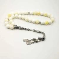 tesbih latest models natura golden shell tasbih pulseira special gift prayer beads 33 66 99beads tespih islam jewelry bracelet