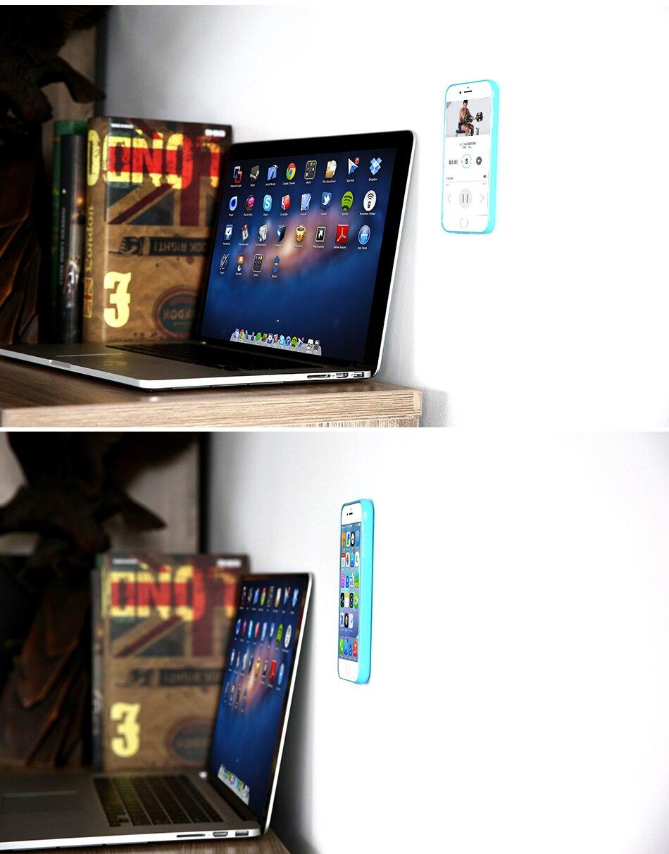 Anti-gravity case dla apple iphone 7 plus 6 6 s plus 5 5S se pokrywa dla samsung galaxy s6 s7 edge samsung s8 plus przypadki huawei p9 12