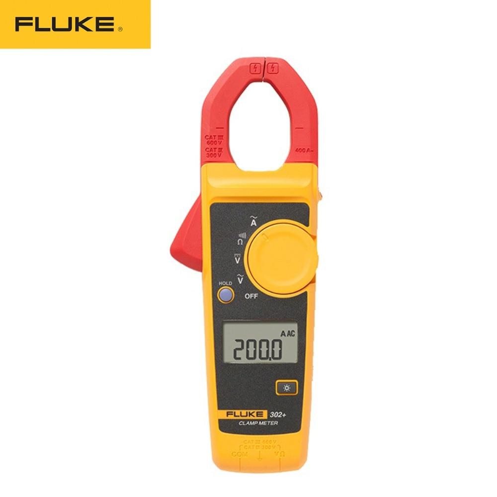 جهاز اختبار مقاومة التيار المتناوب بالأمبير, بالمشبك المتعدد أمبير من نوع Fluke 302+ مقايس رقمي ماسك