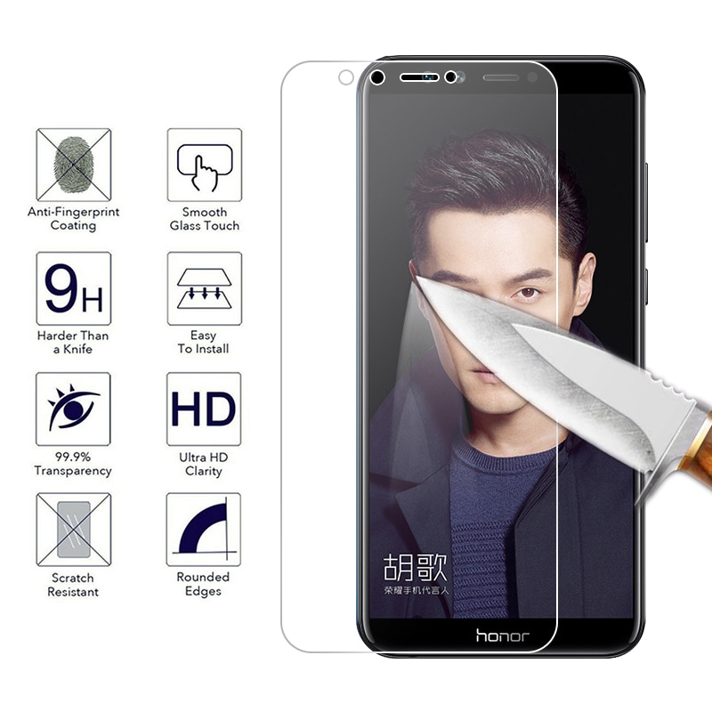 Screen Tempered Glass For Huawei Honor 8X MAX 8C Magic2 V9 Play V10 Note10 Protector Glass For Huawei Honor 10 6C Pro 9i Film