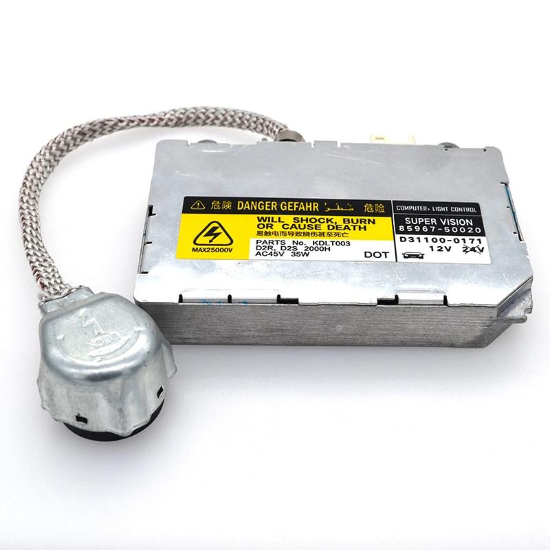 SKYJOYCE D2S D2R HID Xenon Ballast OEM 85967-5002 Igniter Control Unit Module for Lexu s Toyot a Mazd a Lincol n D2 HID Ballast