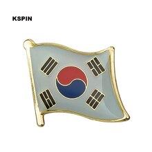 Zuid-korea Vlag Pin Revers Pin Badge Broche Pictogrammen 1 Pc KS-0074