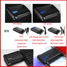 GKD mode style à faible bruit H-18 Ultra mince USB refroidisseur dair extraction Turbo radiateur ventilateur de refroidissement refroidisseur dordinateur portable