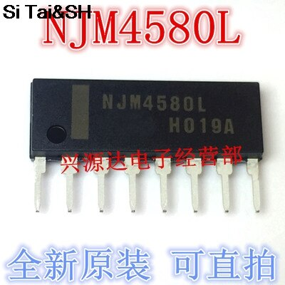 10 шт./лот NJM4580L SIP-8 NJM4580