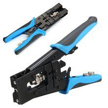 GTBL 1pc Durable Coax Kompression Crimper Tool BNC/RCA/F Crimp Stecker RG59/58/6 kabel Draht Cutter Einstellbar Crimpen Zange