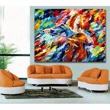 Toile de peinture de trompette de Jazz   Couteau à Palette, peinture, violoncelle, trompette de musicien, toile imprimée pour salon, chambre à coucher, décor de Bar dhôtel