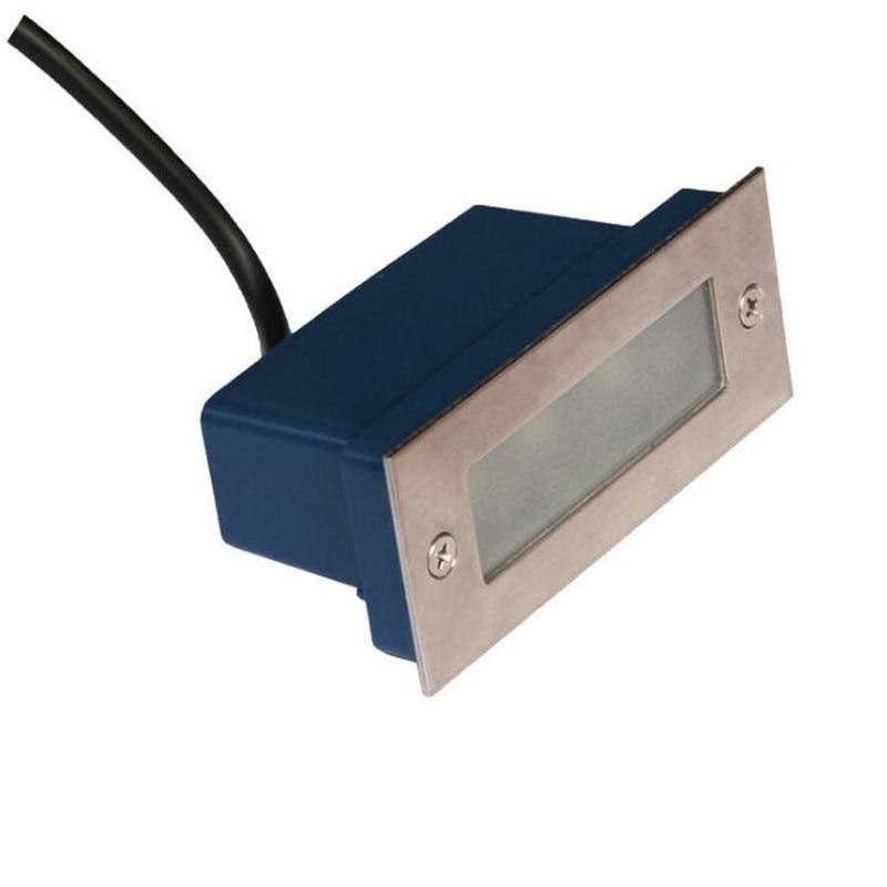 شحن مجاني 3*3W درج الإضاءة led خطوة ضوء الزاوية أضواء 170*70*55 مللي متر AC85-265V CE/بنفايات 2800-7000K