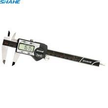 Kwaliteit Elektronische Digitale Schuifmaat Inch/Metrische/150 Mm Rvs Body/Zwart Extra Groot Lcd-scherm Auto off Meetinstrument