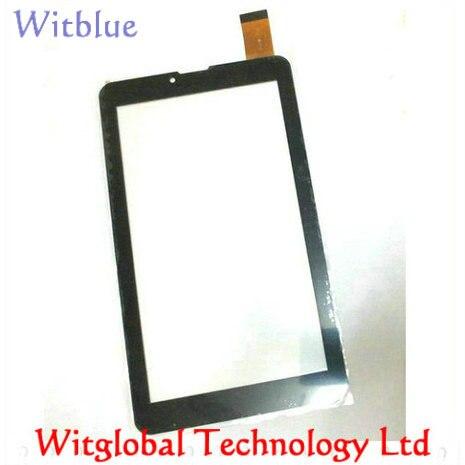 """Schwarz/weiß new tablet touch screen 7 """"haier g700 hit touchscreen digitizer glass sensor ersatz kostenloser versand"""