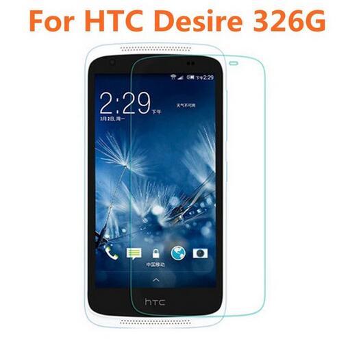 Para HTC Desire 326G vidrio templado Original 9H película protectora frontal a prueba de explosiones Protector de pantalla para HTC protector deseo 326G