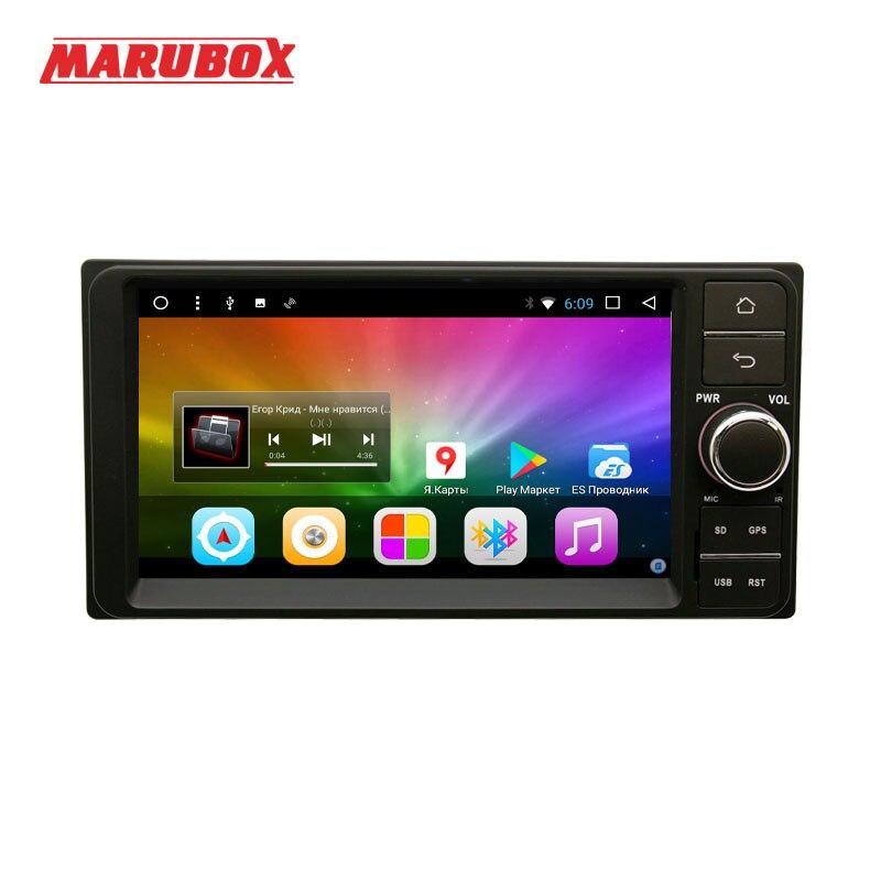 MARUBOX 701DT3 reproductor Multimedia para auto Toyota Universal 2DIN Quad Core Android 8 2GB de RAM 32GB GPS Radio Bluetooth SIN DVD