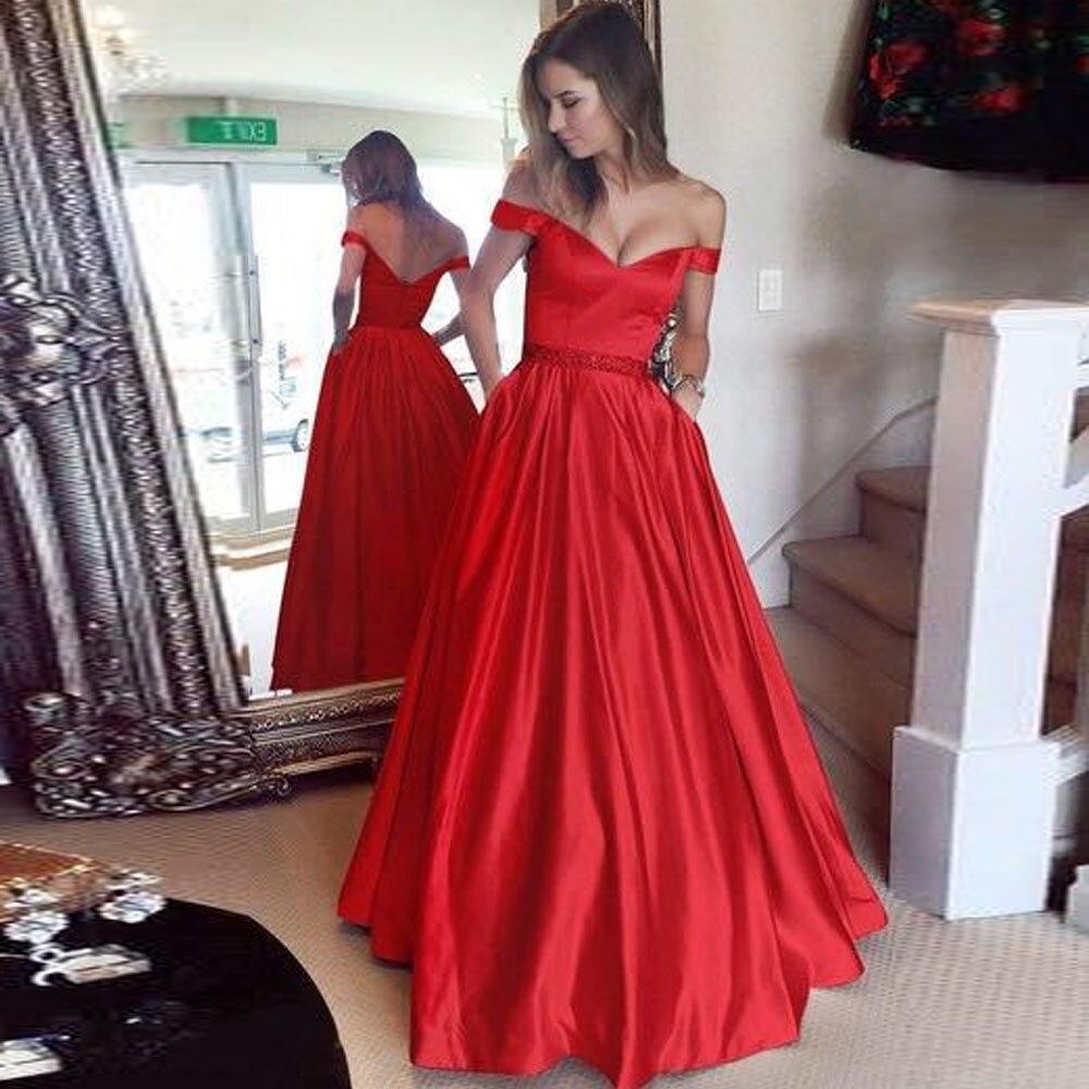 Elegante, rojo, negro, el hombro gran tamaño vestidos Maxi 2019 Sexy de talla grande 4XL 5XL largo Vestido túnica Vestido de festa