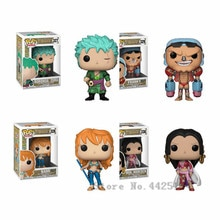 Funko pop ONE PIECE Roronoa Zoro/BOA. Hancock/Nami enfant garçon cadeau danniversaire poupée en vinyle figurine Collection jouet pour ami