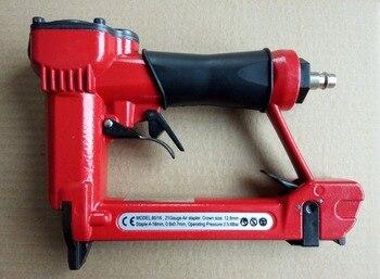 "professinal high quality 1/2"" air stapler 8016 pneumatic fine wire crown stapler gun, air nailer U style nails"