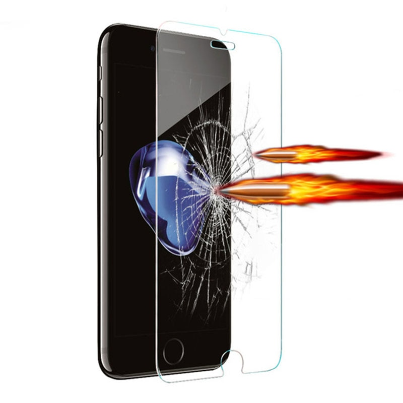 Protective Glass For Iphone 7 Plus Glass Protection On X 8 6 Plus 7plus 8plus 6plus 5 4 10 Tempered
