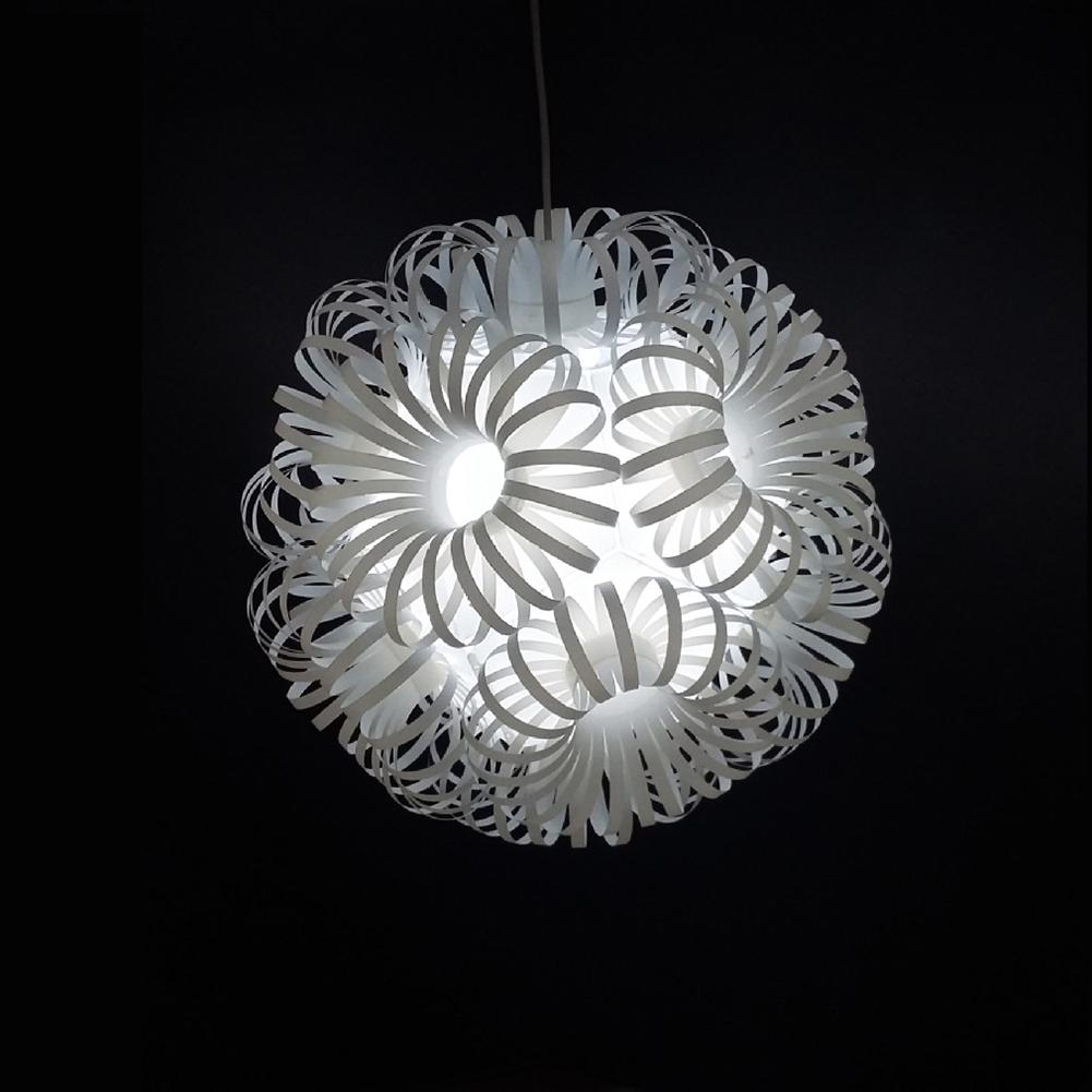 DIY Flower Ball Lampshade Ceiling Lamp Hanging Light Cover Home Restaurant Decor Hot Creative lamp shade abat jour
