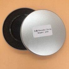 Bande codeur Mimaki 2 pièces originale pour Mimaki TS34 JV33 JV3 JV5 JV2 CJV300 JV150 film de bande de codeur épaissi avec trou