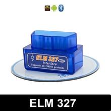 Mini Elm327 Bluetooth OBD2 V2.1 Elm327 V2.1 OBD 2 Car Diagnostic-Tool Scanner Elm327 OBDII Adapter Auto Diagnostic Tool