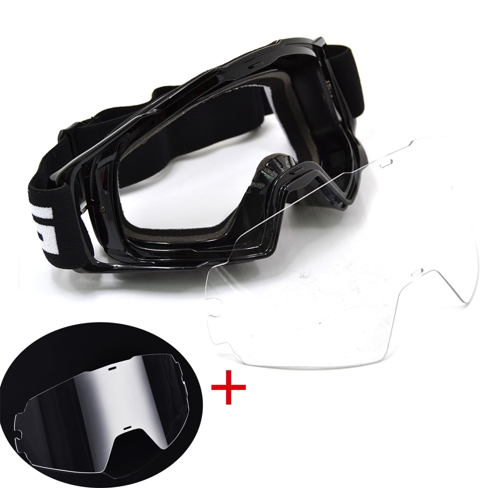 BJMOTO Motocross Goggles Glasses Dirt Bike ATV Off Road Motorcycle Gafas Moto Helmet Googles Anti Wind Eyewear MX Goggles enlarge