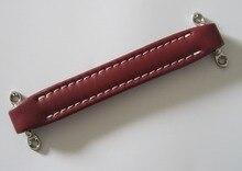 KAISH guitare Vintage Ampeg/MESA/VOX/Style ampli amplificateur poignée en cuir rouge