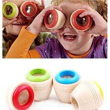 1 pièces en bois magique kaléidoscope bébé enfant polyprisme apprentissage Puzzle jouets éducatifs pour enfants jeu cadeaux