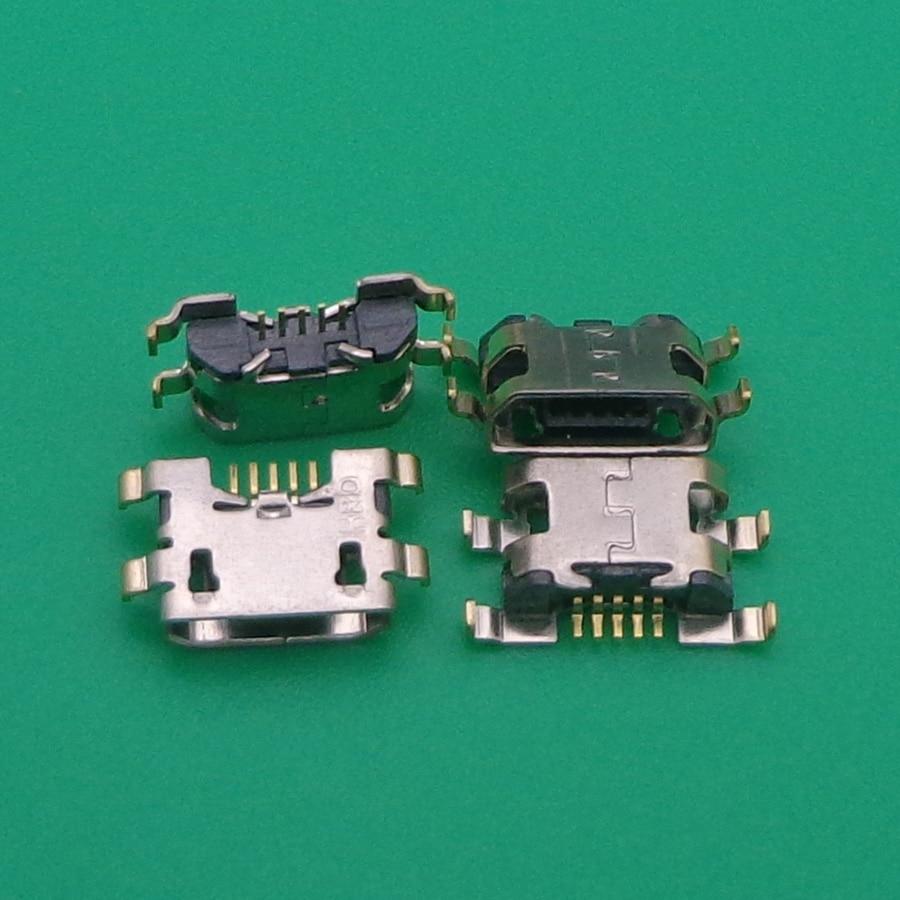 10pcs micro mini USB jack socket connector charging port dock plug female 5 pin For Homtom HT10 Doogee X20 X30