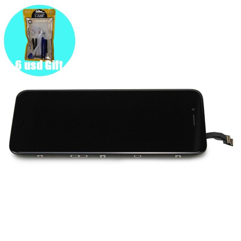 [6 USD regalo] 100% LCD probado para iPhone 6 6S 7 8 Pantalla de repuesto en 66S78 negro blanco Afficheur con herramienta de reparación