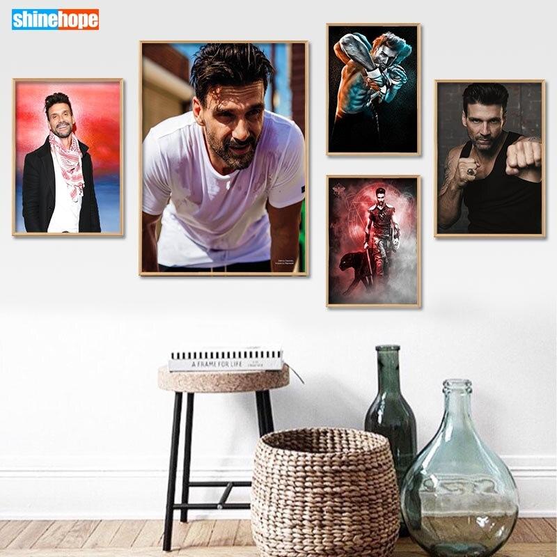 Frank grillo poster personalizado lona poster arte decoração para casa pano tecido parede cartaz impressão de seda 30x45cm, 40x60cm