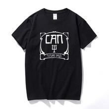 Drukowane może przyszłe dni Tribute Krautrock T-Shirt 100% Premium Casual T Shirt wycięcie pod szyją 100% bawełna Hombre Tee Shirt prezent