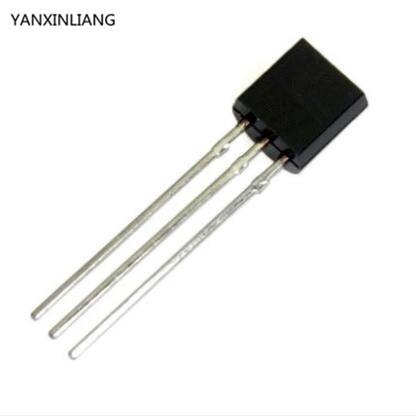 100PCS Transistor BC547C BC547 0.1A/45V NPN transistor TO-92 dc 45v