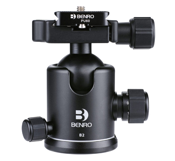 Benro Ball head B00 B0 B1 B2 B3 B4 B5 ballhead Professional Magnesium Video Head Bual Action Ball Head