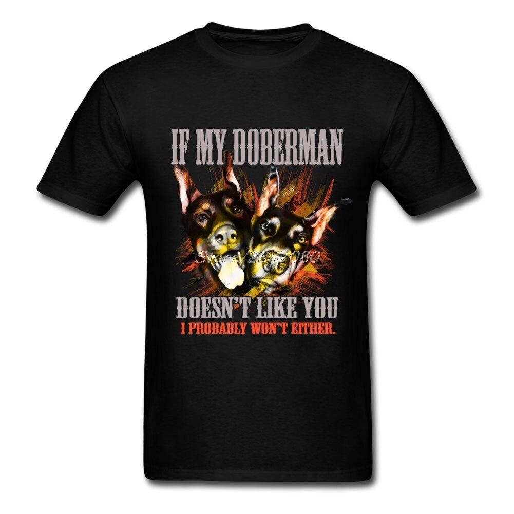Camiseta My Doberman, camisetas de manga corta XXXL para hombre, Pop Cosplay de algodón, divertidas camisetas
