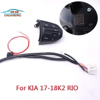 chuangmu Steering Wheel Button For KIA K2 RIO 2017 2018 RIO X LINE Buttons Bluetooth Phone Cruise Control Volume
