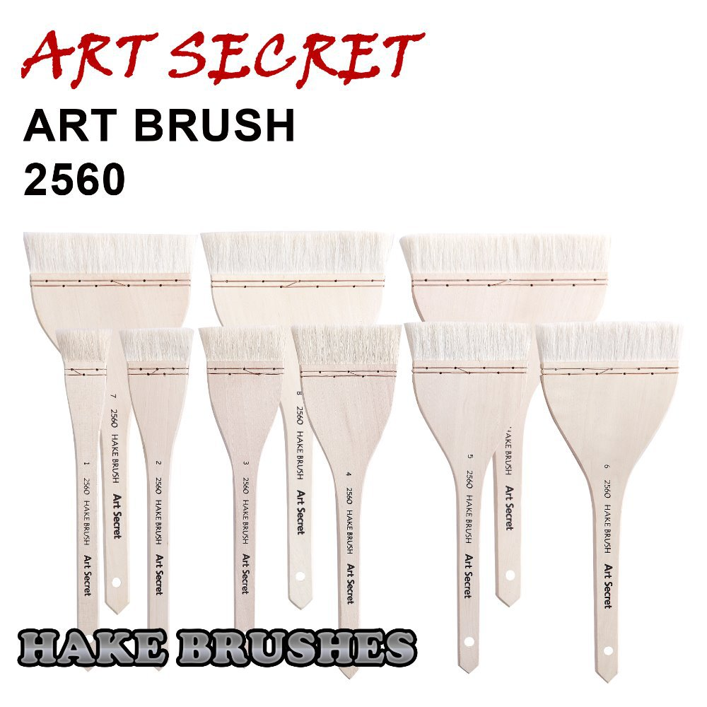 2560 de alta qualidade cabelo cabra cabo de madeira fio cobre torcido arte pincéis pintura artística pincel para desenho aquarela