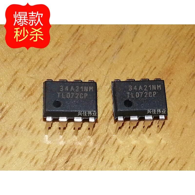 10 piezas nuevo original auténtico TL072 TL072CP TL072CN op amp