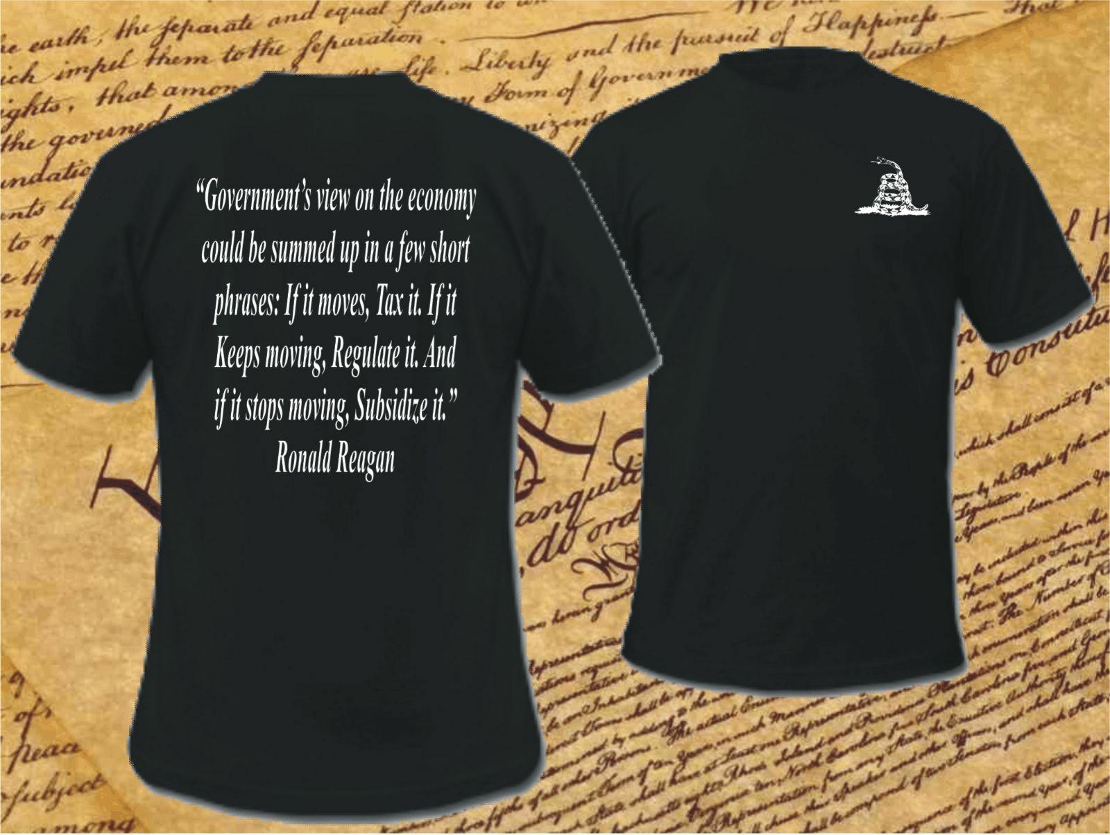 2019 divertida camiseta Unisex de doble cara del gobierno de Estados Unidos DonT písame con la frase de freestander