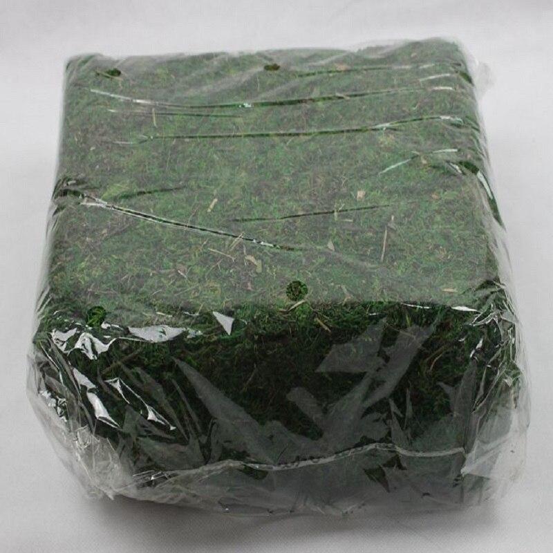 Musgo artificial 900 g/saco acessórios de flores artificiais musgo seco decoração de vaso de flores artificiais