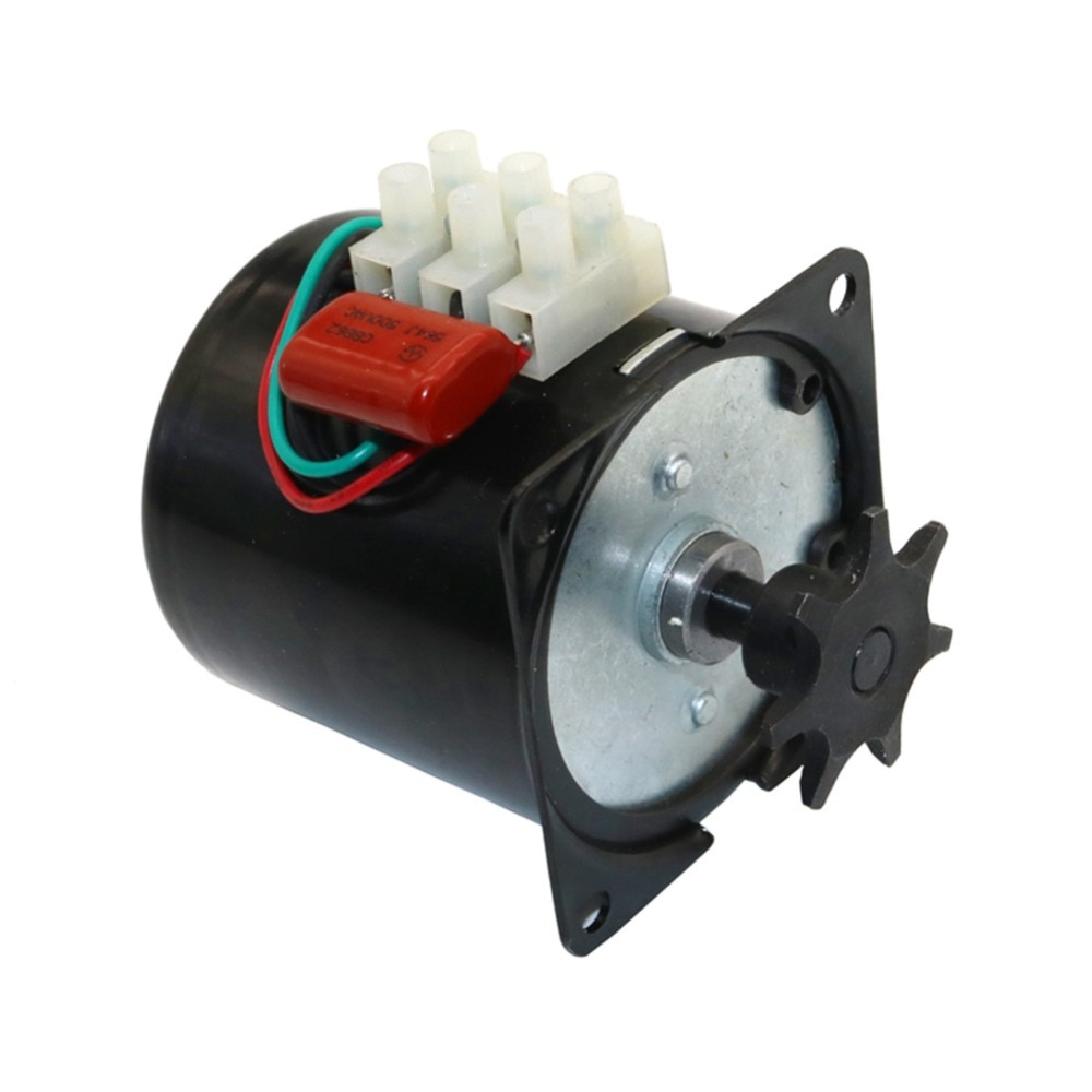 1 Pcs 220V Or 110V Incubator Turn The Eggs Motor Engine Reversible Geared Motor Incubator Accessories Most Incubator 2.5r/min